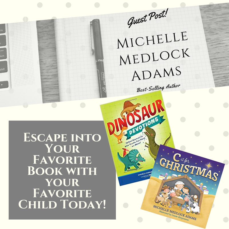 Escape into Your Favorite Book with your Favorite Child Today!